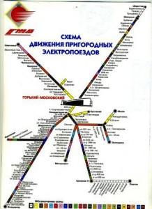 Реклама в электричках и поездах infrus.ru